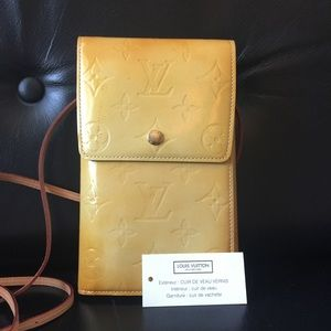 Louis Vuitton Vernis Crossbody Wallet